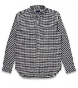 Oxford gingham check b.d shirt